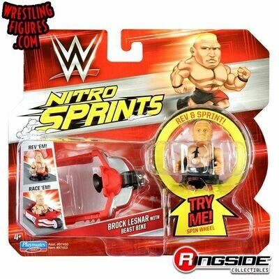 WWE Nitro Sprints Brock Lesnar