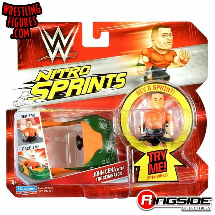 WWE Nitro Sprints John Cena