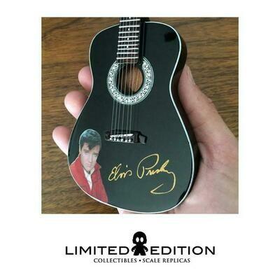 Elvis Presley Black Acoustic