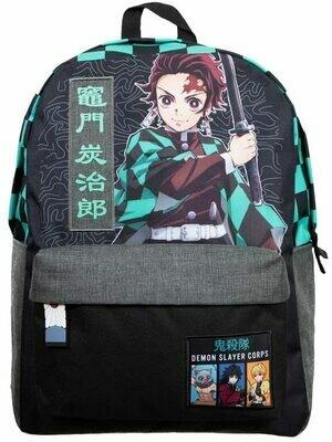 Demon Slayer Tanjiro Checker Backpack