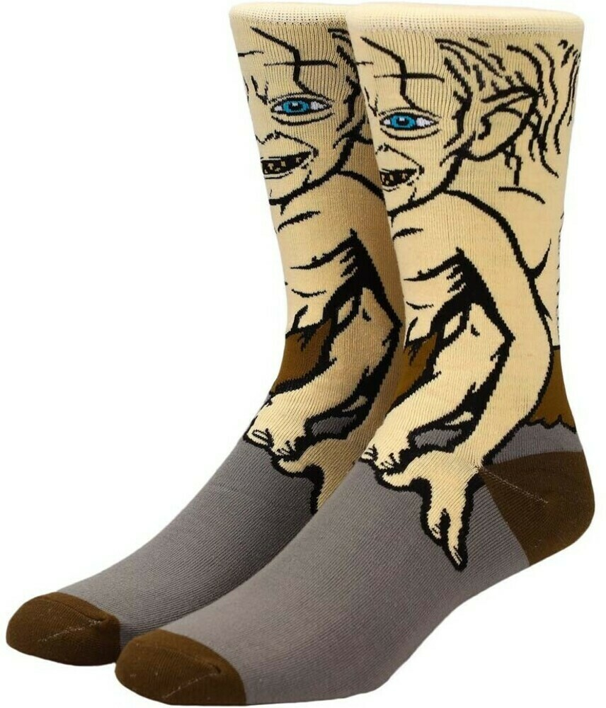 LOTR Gollum Character Socks
