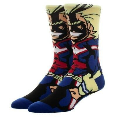 MHA All Might Character Socks