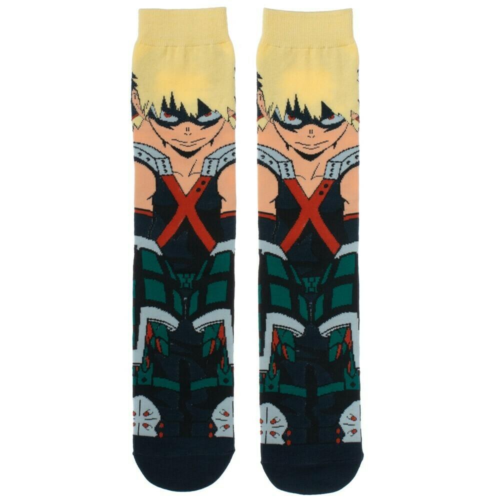 MHA Katsuki Bakugo Character Socks