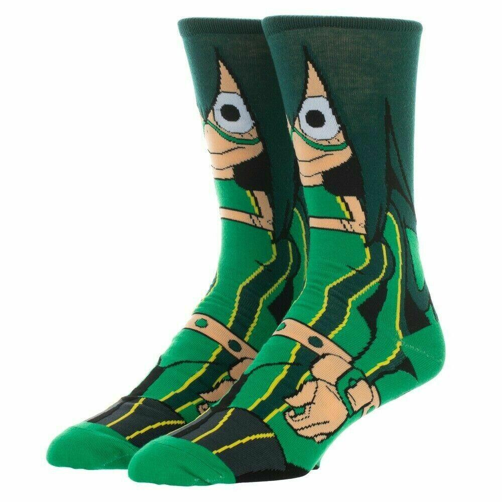 MHA Tsuyu Asui Character Socks