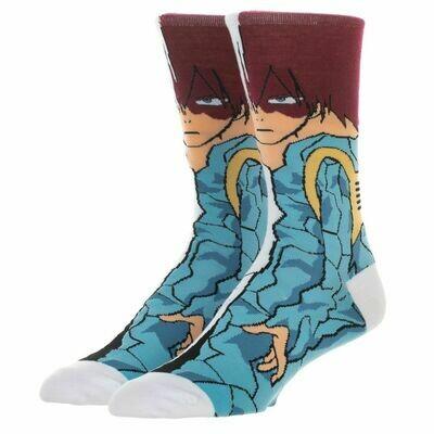 MHA Shoto Todoroki Character Socks