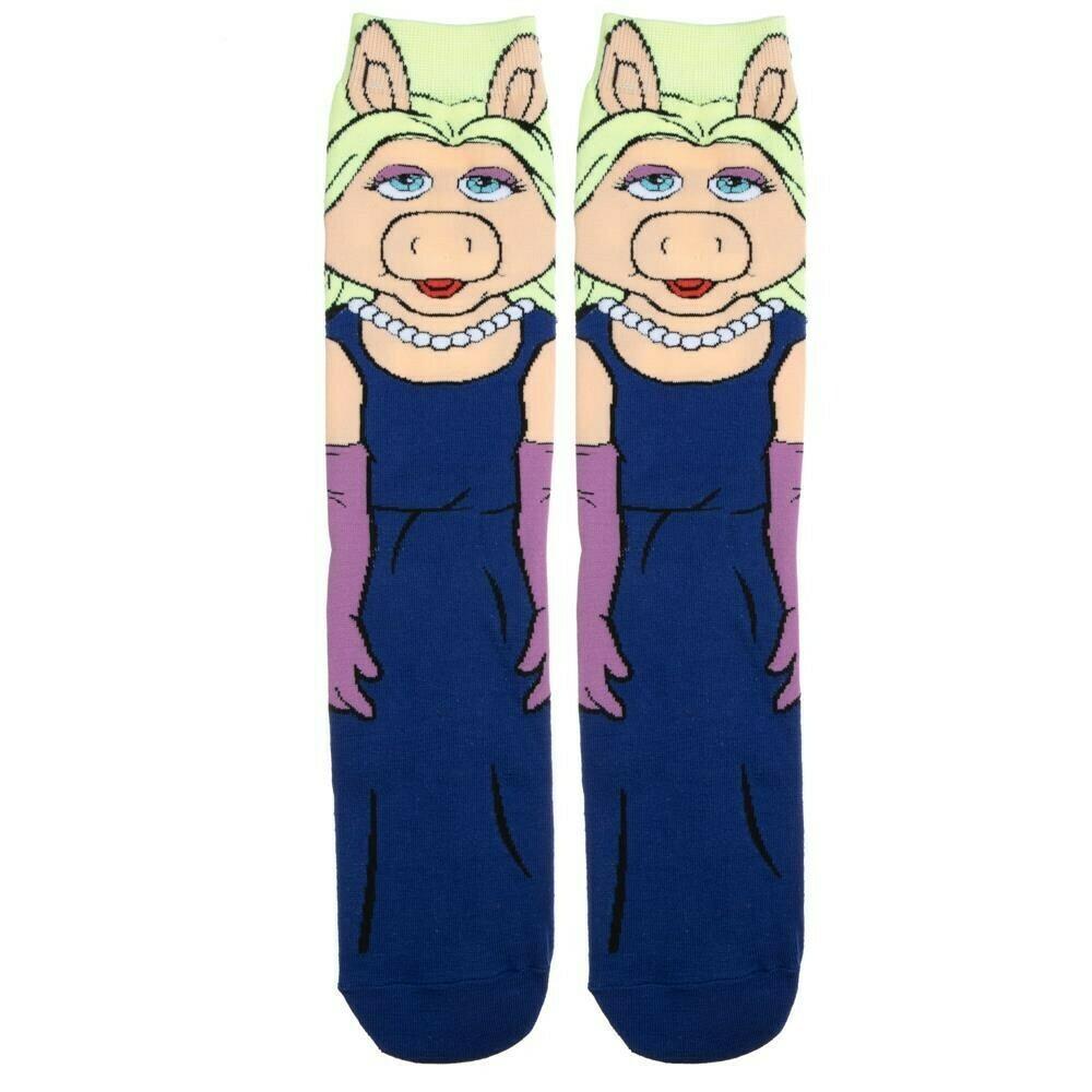Muppets Miss Piggy Character Socks