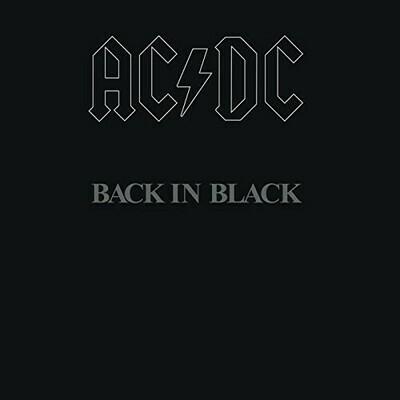 ACDC- Back In Black LP