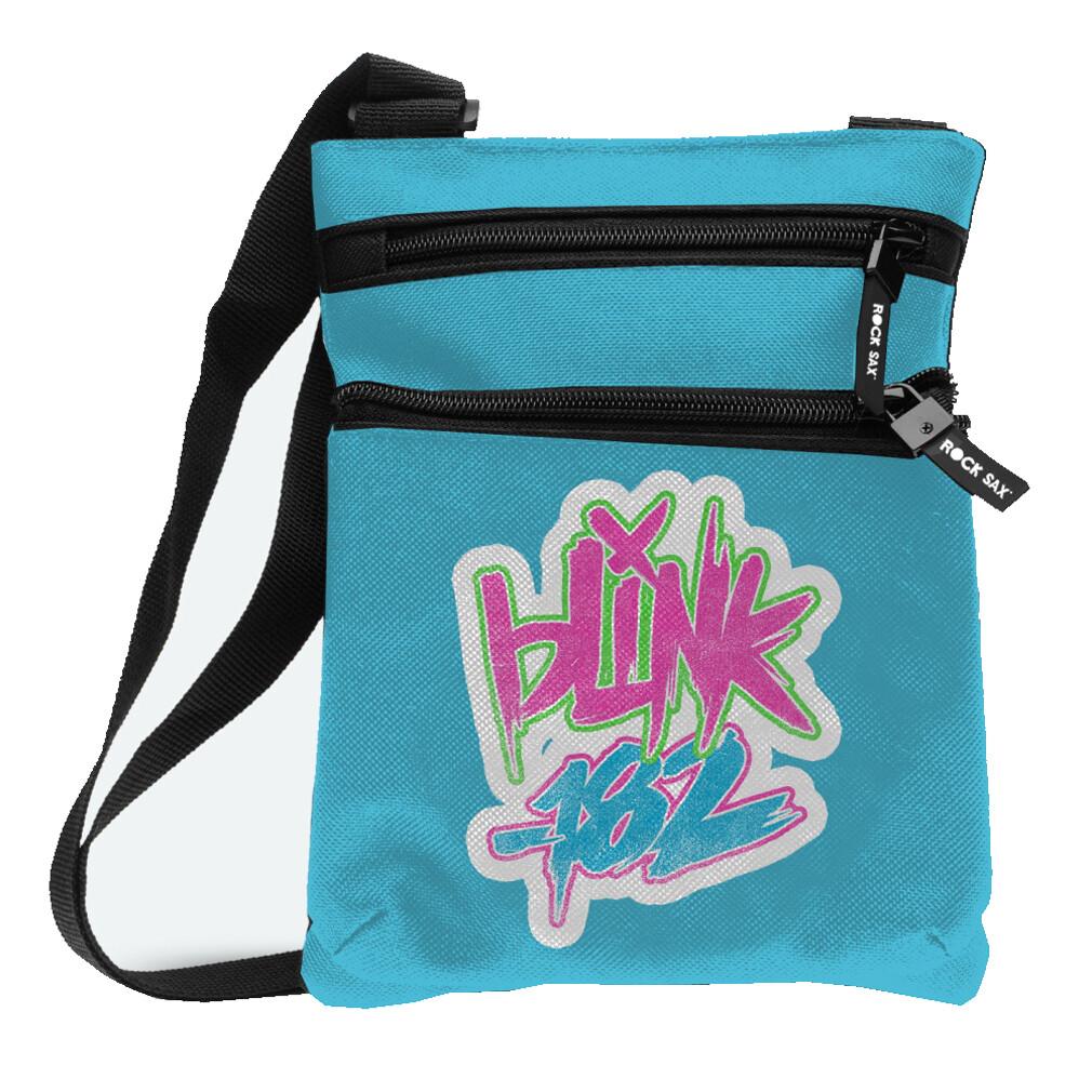 Blink 182 Blue Crossbody Bag