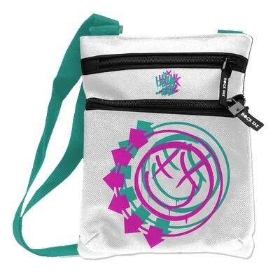 Blink 182 White Crossbody Bag