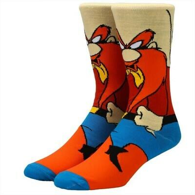 Yosemite Sam Character Socks