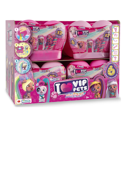VIP Pets Mini Fans 12 PC