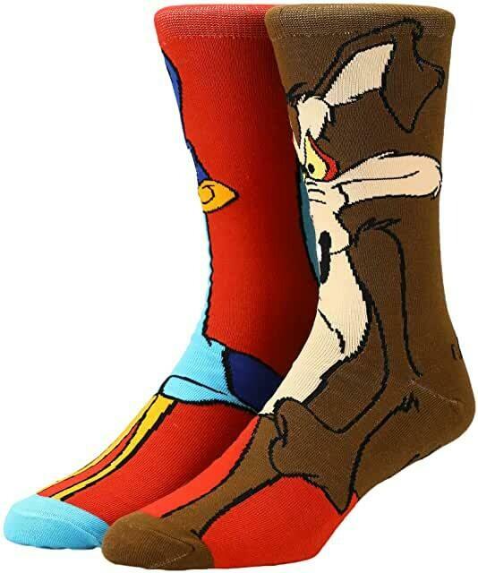 Wile E Coyote Character Socks