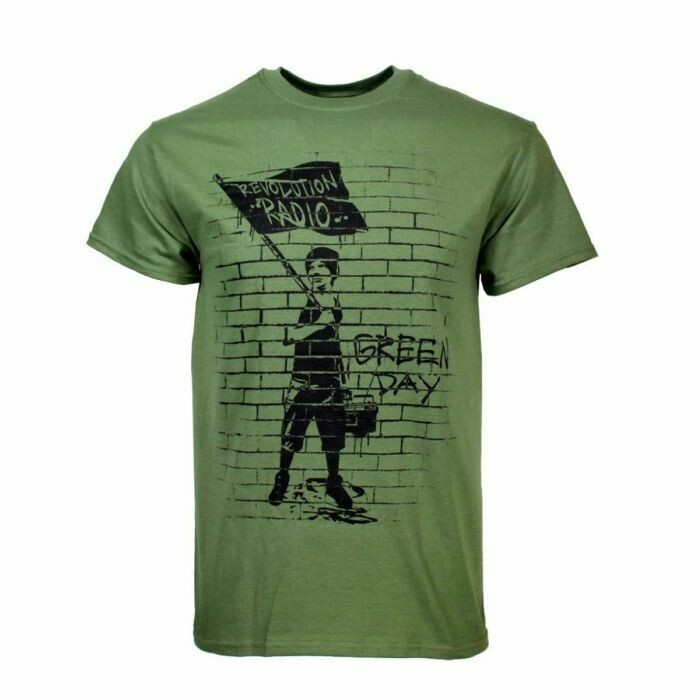 Green Day Flag Boy T Shirt