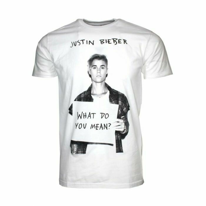 Justin Bieber What Do You Mean T Shirt