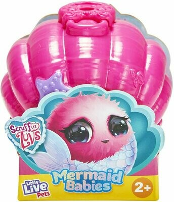 Scruff-A-Luvs Mermaid Babies