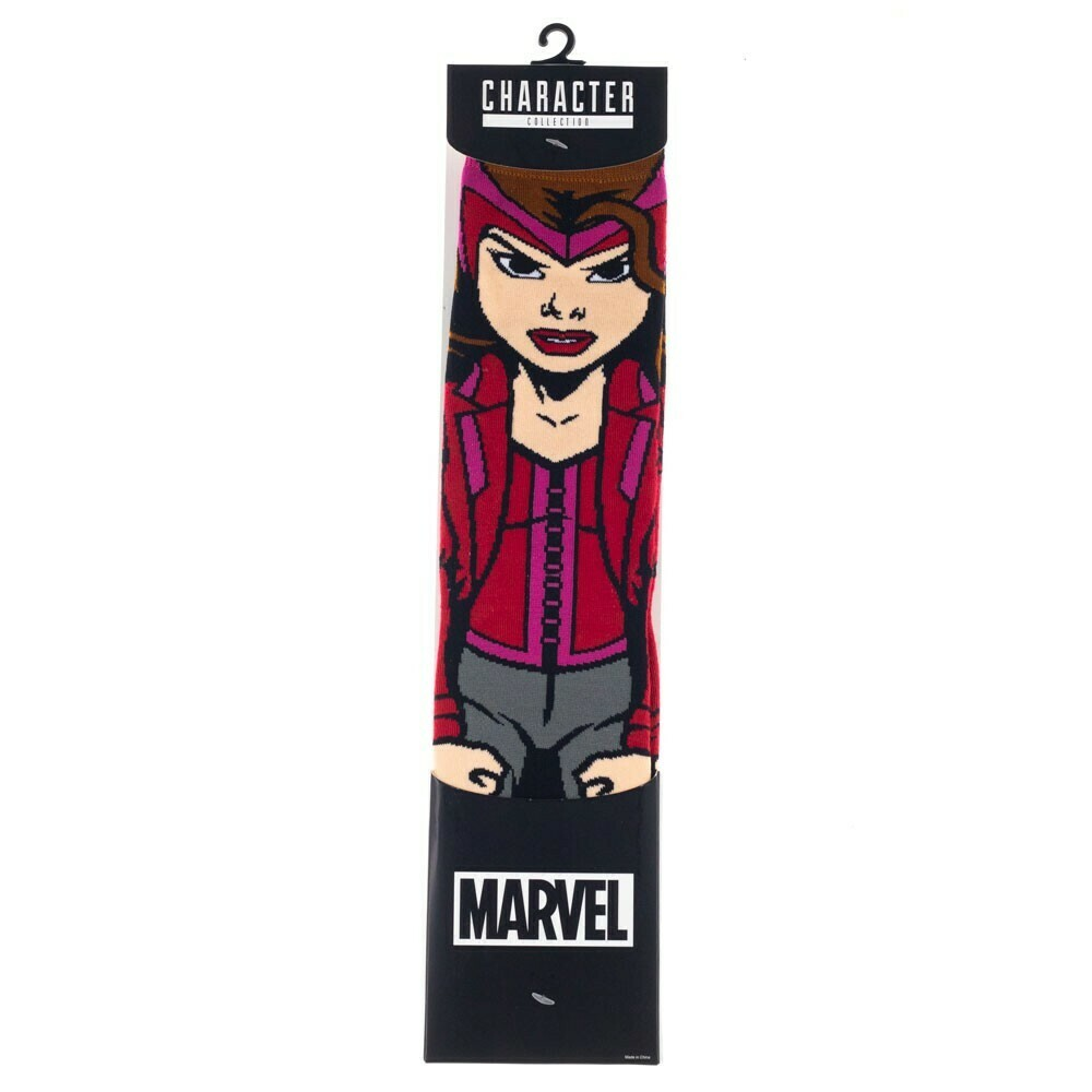 Scarlet Witch Character Socks