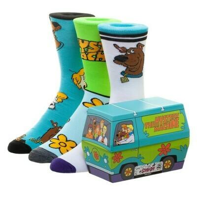 Scooby Doo Set Socks