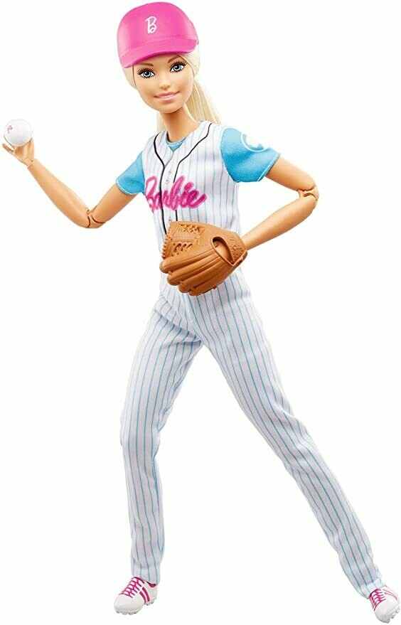 Barbie Baseball Player