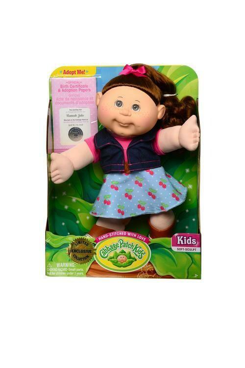 """CPK 14"""" Farm Kid Doll"""