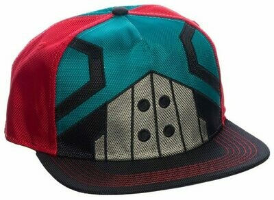 MHA Green Red Black Hat