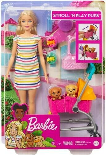 Barbie Stroll N Play Pups