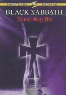Black Sabbath- Never Say Die DVD