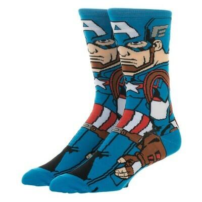 Captain America Character Socks