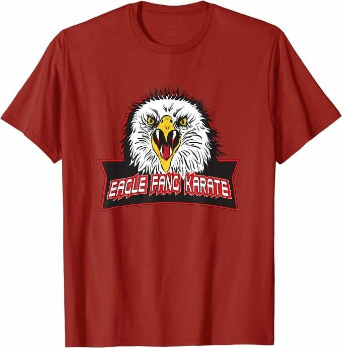 Cobra Kai Eagle Fang Karate Shirt