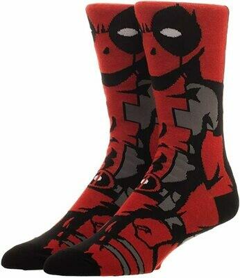 Deadpool Character Socks