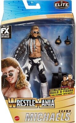 WWE Elite Collection WrestleMania Shawn Michaels