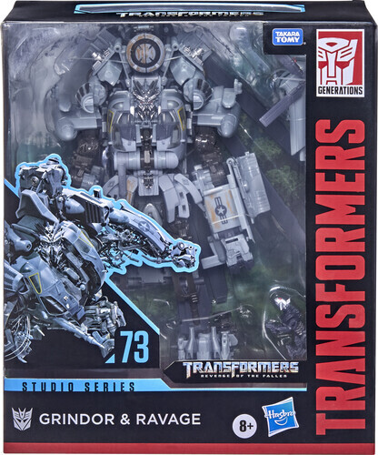 Transformers Generations Grindor & Ravage
