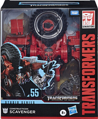 Transformers Construction Scavenger
