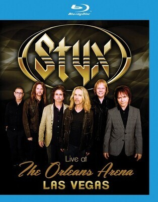Styx Live At The Orleans Arena Las Vegas BR