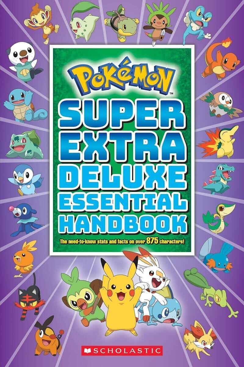 Super Extra Deluxe Essential Handbook Pokemon