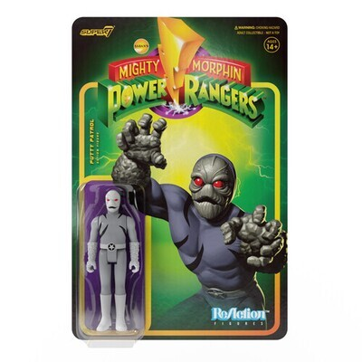 Power Rangers ReAction Putty Patrol