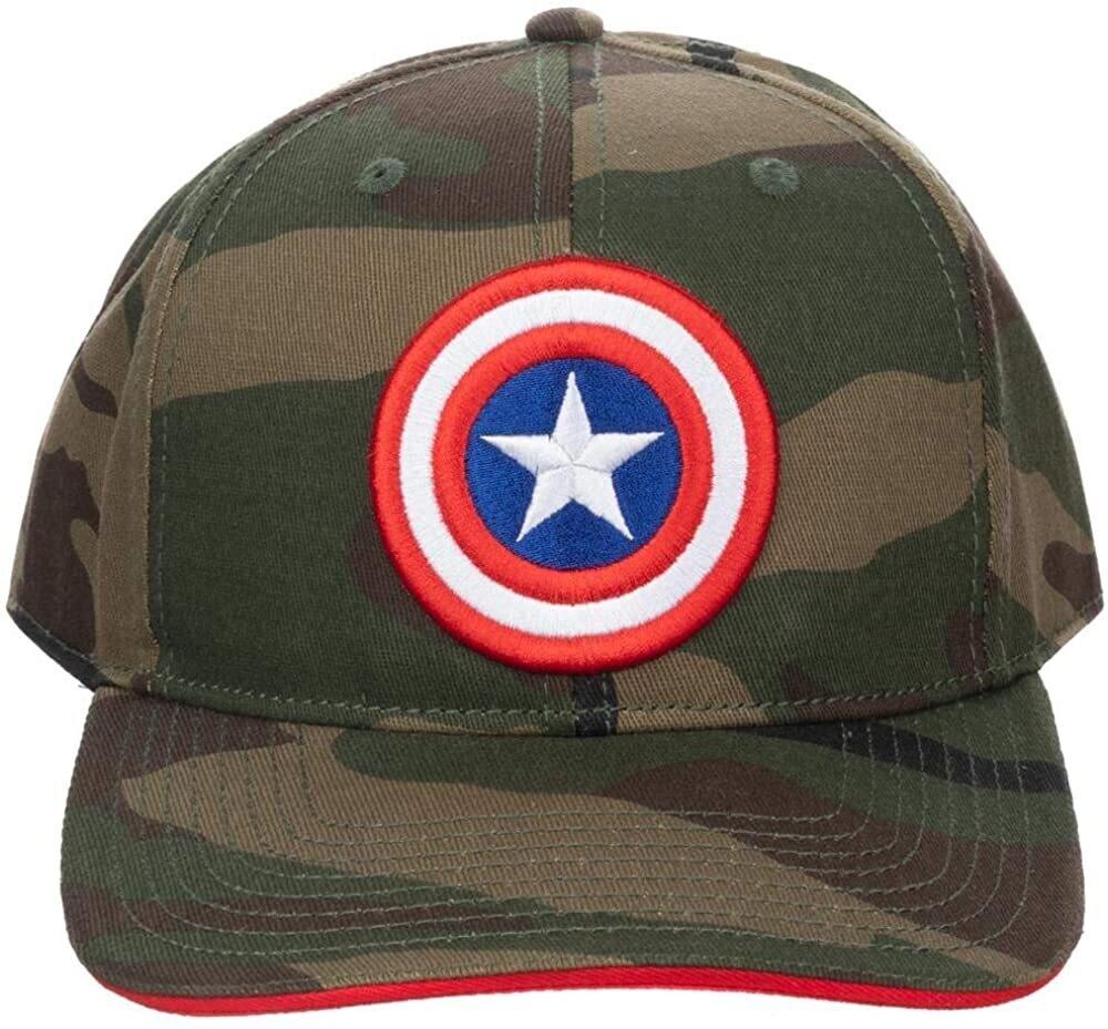 Captain America Camo Hat