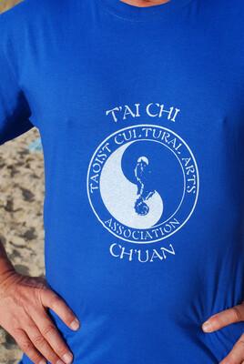 T'ai Chi blue T-shirt