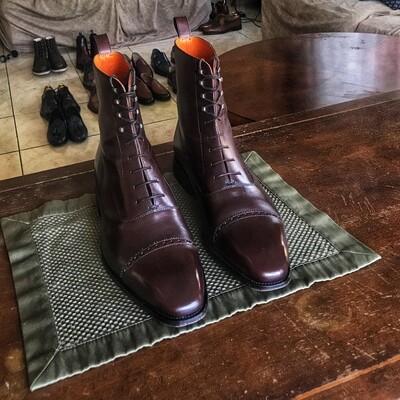 Cru Nonpareil Balmoral Boot In Brown Calf