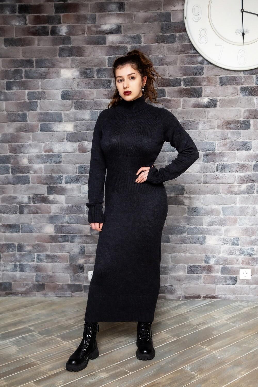 Платье из мериноса