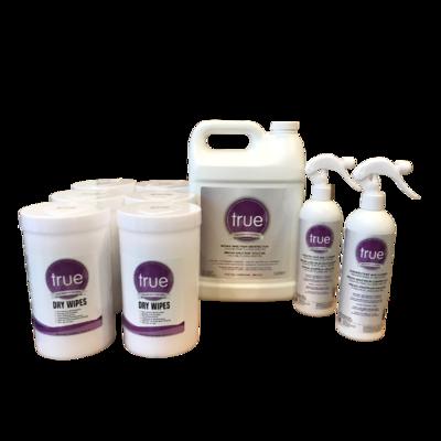 true™ Disinfectant Wipe kit
