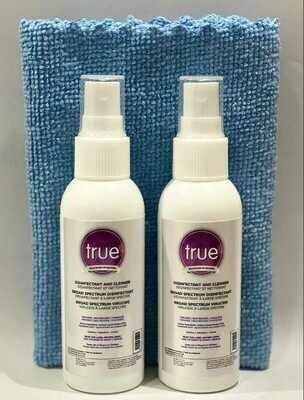 true™ Disinfectant Travel kit