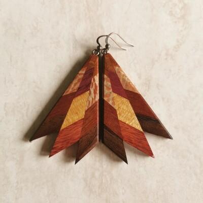 MIROMIRO 5 - Handmade Wooden Earrings