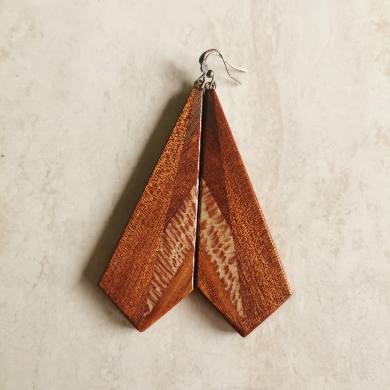 TEPORE ESTERNO - Handmade Wooden Earrings