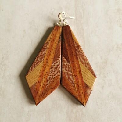 PIUMA TASMANIA - Handmade Wooden Earrings