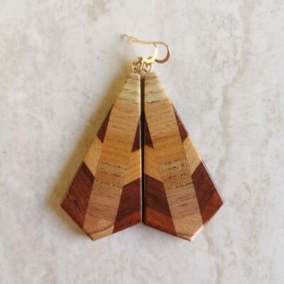 DIECI - Handmade Wooden Earrings