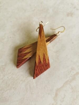 RARANGA 3 - Handmade Wooden Earrings