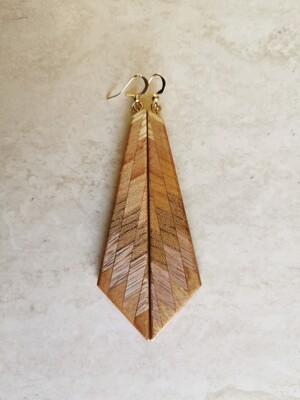 RARANGA 24 - Handmade Wooden Earrings