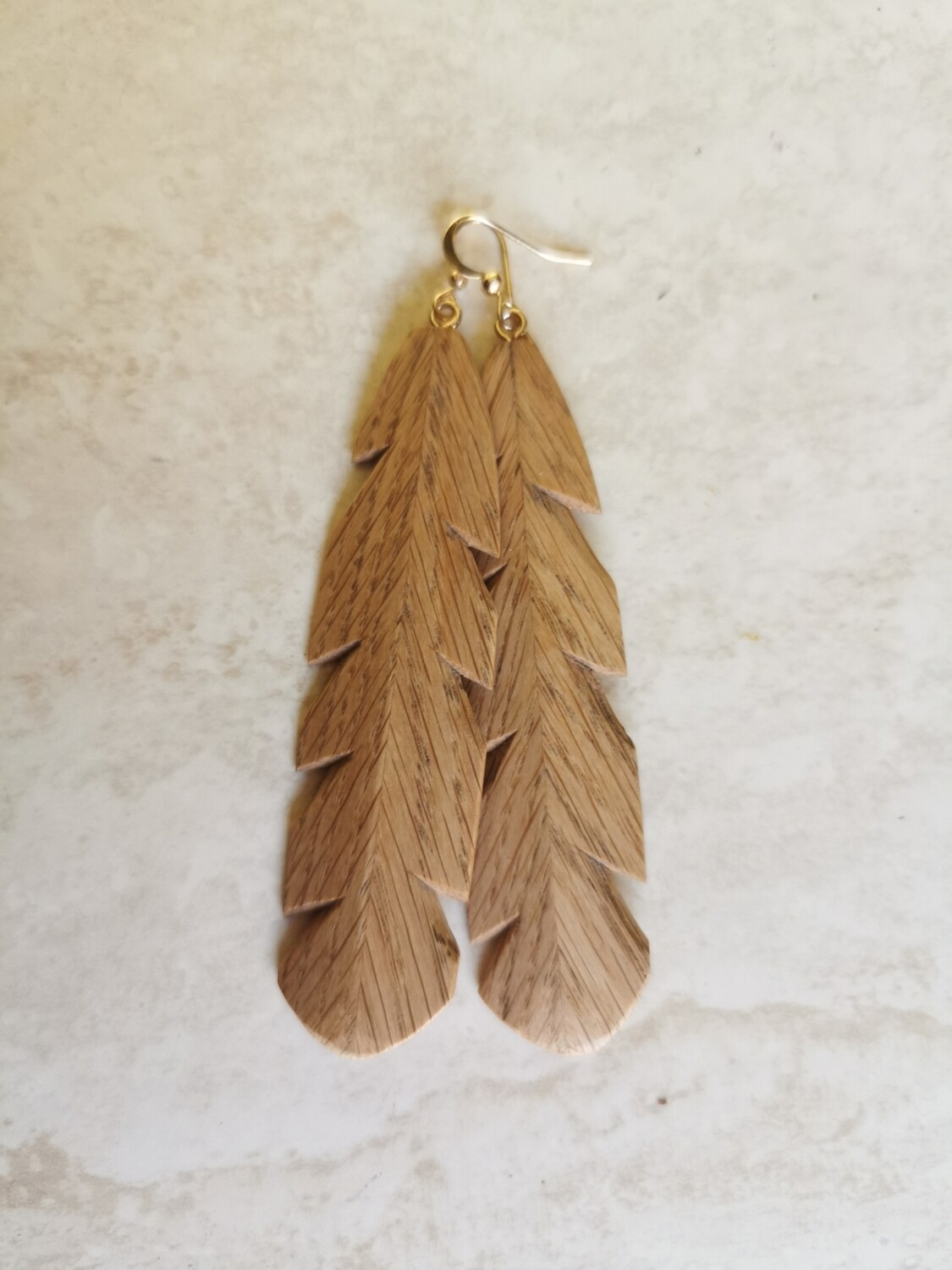 TUI CHIARA - Hand Carved Wooden Earrings