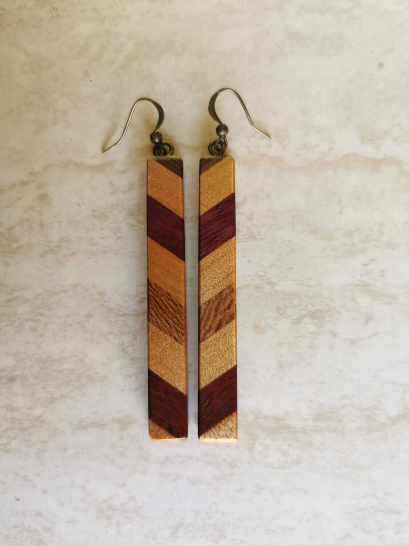 PIU PIU - Handmade Wooden Earrings