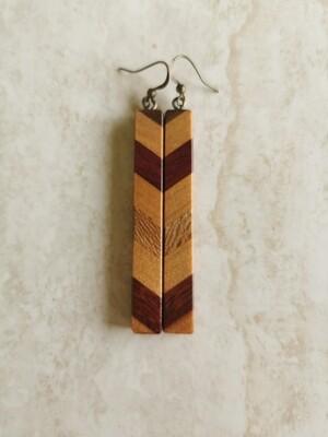 PIUPIU 3 - Handmade Wooden Earrings